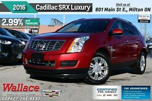 2016 Cadillac SRX LUXURY COLLECTION/AWD/SUNRF/HTD STS/NAV/BOSE