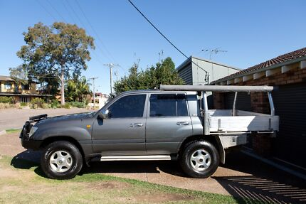 2003 Toyota LandCruiser Dual Cab Ute Conversion Supercharged V8 Valentine Lake Macquarie Area Preview