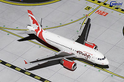 Gemini Jets Air Canada Rouge Airbus A319 GJACA1414 1/400 REG# C-GBHK. New