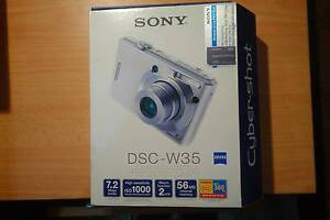 Sony DSC-W35 Cybershot Digital Camera Pennant Hills Hornsby Area Preview