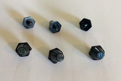 New! Nike Aluminum Black SG Pro 11mm,13mm,15mm Stud/Cleat metal replacement