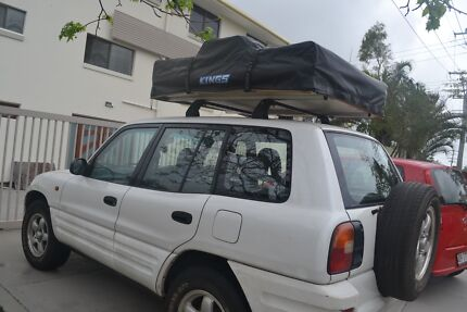 1997 RAV4 (4X4) with Rooftop Tent, Auxiliary Power + Much More