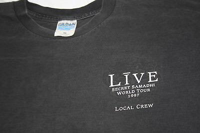 Live XL Concert Tour T Shirt Secret Samadhi 1997 Local Crew