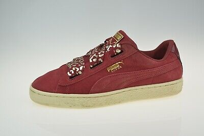 Puma Suede Heart AthLuxe 366844 Women's Trainers Size Uk 5