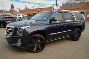 2017 Cadillac Escalade Plat. SUV - DUB Wheels Surround Vision