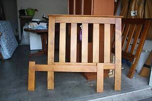 Single beds timber pair Soldiers Point Port Stephens Area Preview