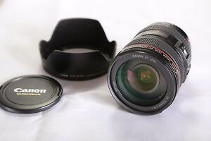 Canon f4 24-105mm L IS USM Lens