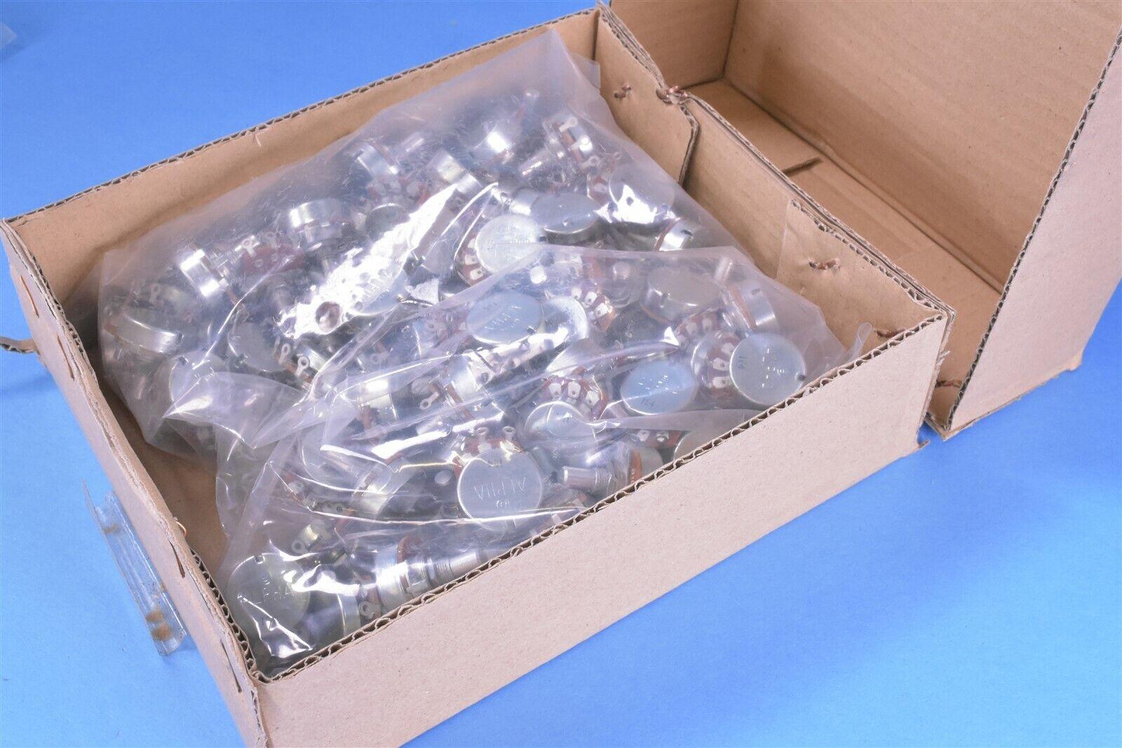 100 Alpha Electronics 10K Potentiometers Variable Resistors General Purpose
