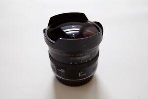 Lens Canon 15mm 2.8 EF Fish-eye