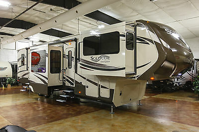 2014 grand design solitude 379fl front living room luxury - Front living room fifth wheel used ...