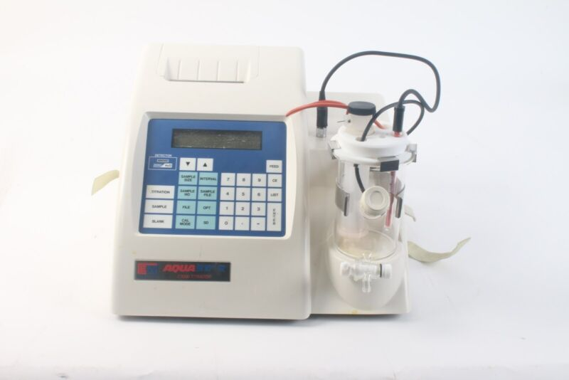 EM Science AquaStar C3000 Coulometric Titrator with Power Cable