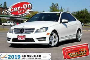 2013 Mercedes-Benz C-Class 300 4MATIC LEATHER SUNROOF HTD SEATS