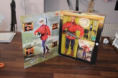 VINTAGE ACTION MAN CARDED Canadian Mountie GI JOE geyperman boxed