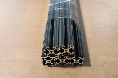8020 Inc 15 Series Extrusion Aluminum 1515-lite Black X 24 Long Lot A5-01 5pk