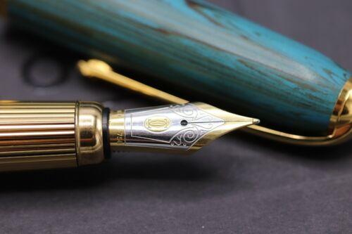 Cartier Louis Cartier Dandy Limited Edition Green Ebonite LE Fountain Pen 4