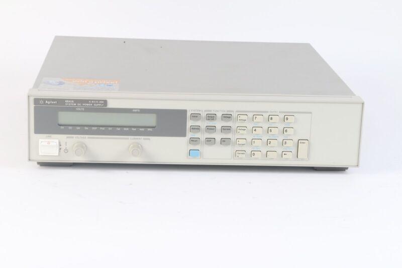 HP Hewlett Packard Agilent Keysight 6641A System DC Power Supply 0-8V/0-20A