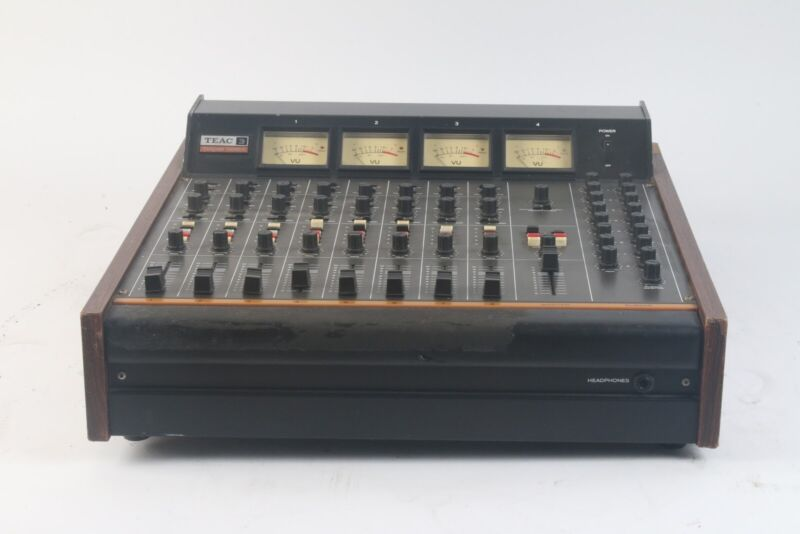 Teac Tascam Series Model 3 8-Channel Vintage Audio Mixer