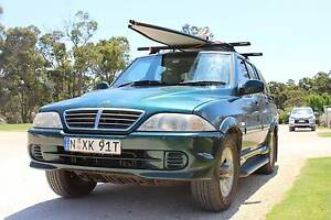2006 Ssangyong Musso Ute Minto Campbelltown Area Preview