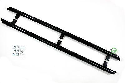 VW CADDY 2003-2015 Side bars BLACK stainless steel s PAIR