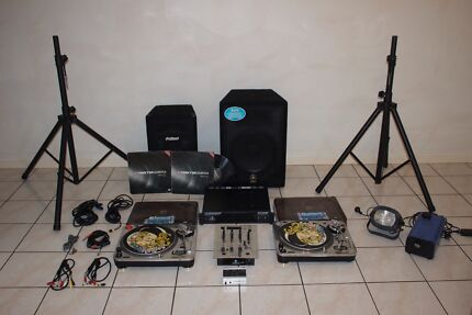DJ Kit - Turntables, Mixer, Speakers, Traktor and more Victoria Point Redland Area Preview