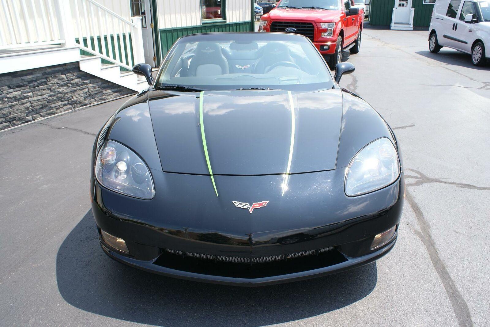 2008 Black Chevrolet Corvette   | C6 Corvette Photo 4