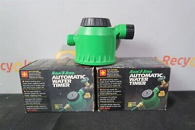Rain Bird RainBird WT-1800 Vintage Vtg Automatic Water Timer Lot of 2