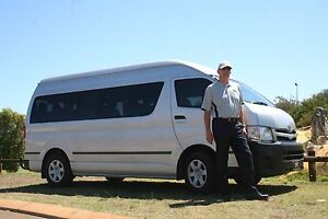 Hire exclusive 12 seater modern minibus and driver for 8 hours Stirling Stirling Area Preview