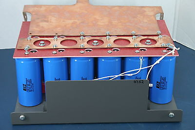 Mge Ups Systems S72-130460-10 4.7l Bldr Dc Capacitor Bank Assembly