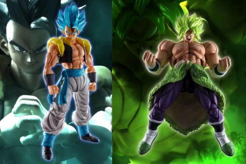 2-SET S.H.Figuarts Dragon Ball Movie Super Saiyan Blue Gogeta & Broly IN STOCK!