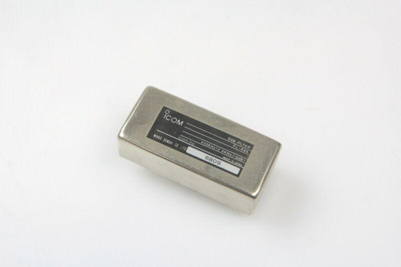ICOM  FL-44A  455kHz SSB Filter 2.4kHz/-6dB