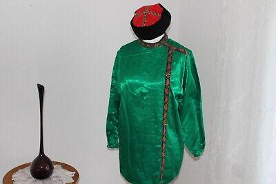 Kostüm Kasak für Husar oder Kosak grün Gr. S Karneval Mottoparty Russland