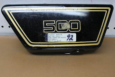 1976 1977 <em>YAMAHA</em> XS500 RIGHT SIDE COVER FAIRING COWL YTPU86