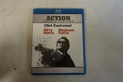 Dirty Harry & Magnum Force Action Crime Thriller Mystery ~ Blu-Ray DVD