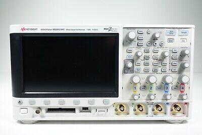 Keysight Used Msox3104t Oscilloscope Mixed Signal 416 Ch 1 Ghz - Bndl