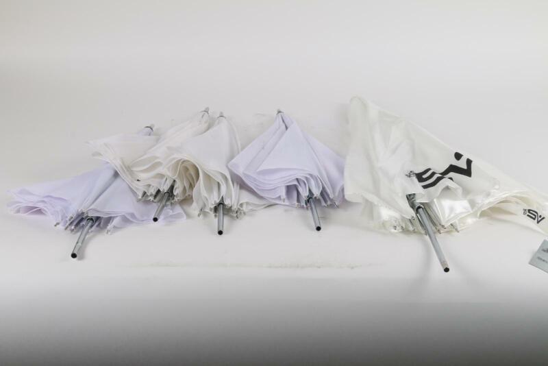 Lot of 5 Lowel & Smith-Victor Reflective Umbrella