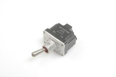 Lot Of 4 Ms24524-26 Toggle Switch On-momentary On Dpdt 10a 125250 277vac 2tl1