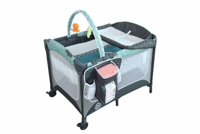 PlaKastle Nursery Suite Playard with Bassinet, Balboa
