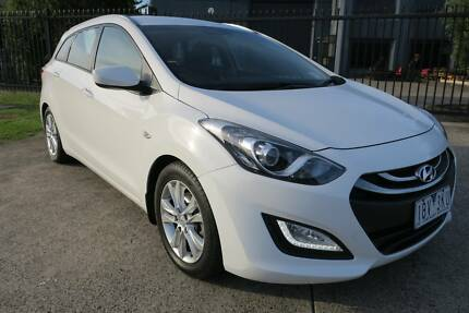 2014 Hyundai i30 GD Active Tourer White 6 Speed Sports Automatic Campbellfield Hume Area Preview