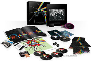 PINK FLOYD 6 Disc CD DVD BLURAY Dark Side of The Moon - IMMERSION BOX New SEALED