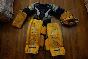 Goalie equipment RBK 5K JR & Bag