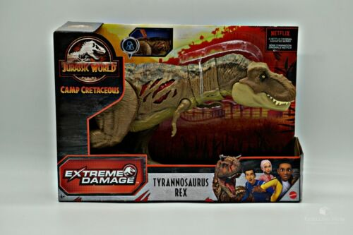 Jurassic World Tyrannosaurus Rex Figur || Camp Cretaceous - Mattel || NEU & OVP