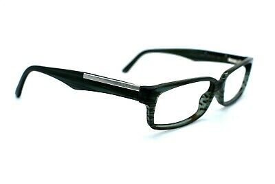 PRADA Eyeglasses Women VPR01M ZXE-1O1 Green striped Full Rim Men 52[]15 140 #293