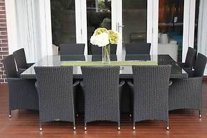 WICKER DINING SETTING,10 SEATS,EUROPEAN STYLED,BRAND NEW Rocklea Brisbane South West Preview