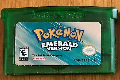 Pokemon Emerald Version (Game Boy Advance, 2005)
