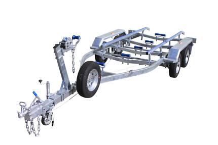 Affordable Trailers Tasmania 6mt Metre Skid Dual Axle Braked