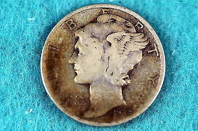 Estate Find 1945 - Mercury Dime F7871 - $2.50