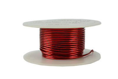 Temco Magnet Wire 16 Awg Gauge Enameled Copper 4oz 155c 31ft Coil Winding