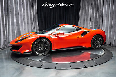 2019 Ferrari 488 Pista Original MSRP $519,797+ Optioned Extremely Well! C 2019 Ferrari 488 Pista Original MSRP $519,797+ Optioned Extremely Well! C Red