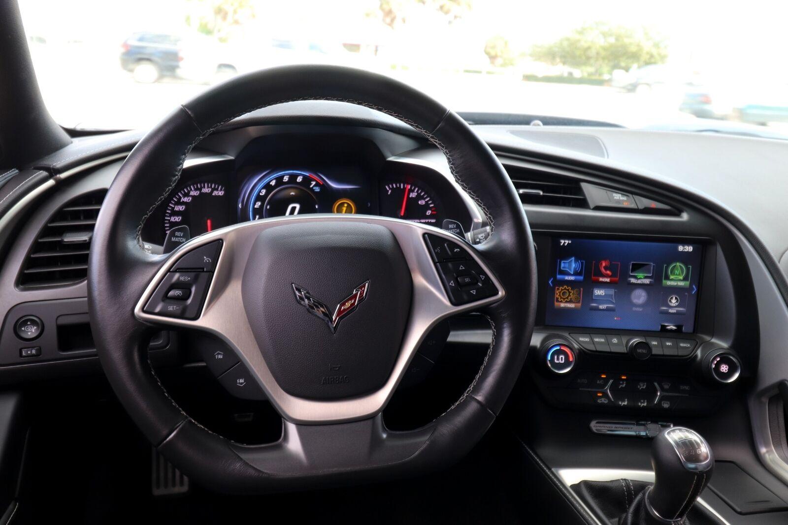 2018 Black Chevrolet Corvette Grand Sport    C7 Corvette Photo 2