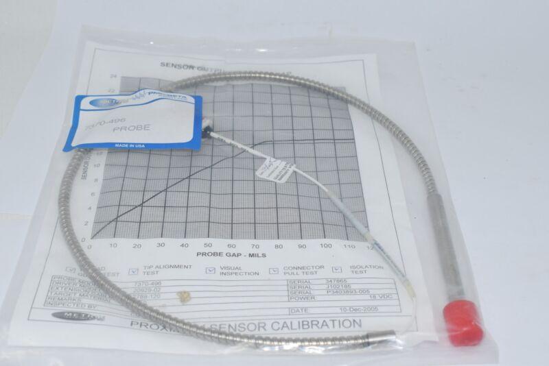 NEW Metrix 7370-496 PMC Beta Proximity Probe Vibration Sensor